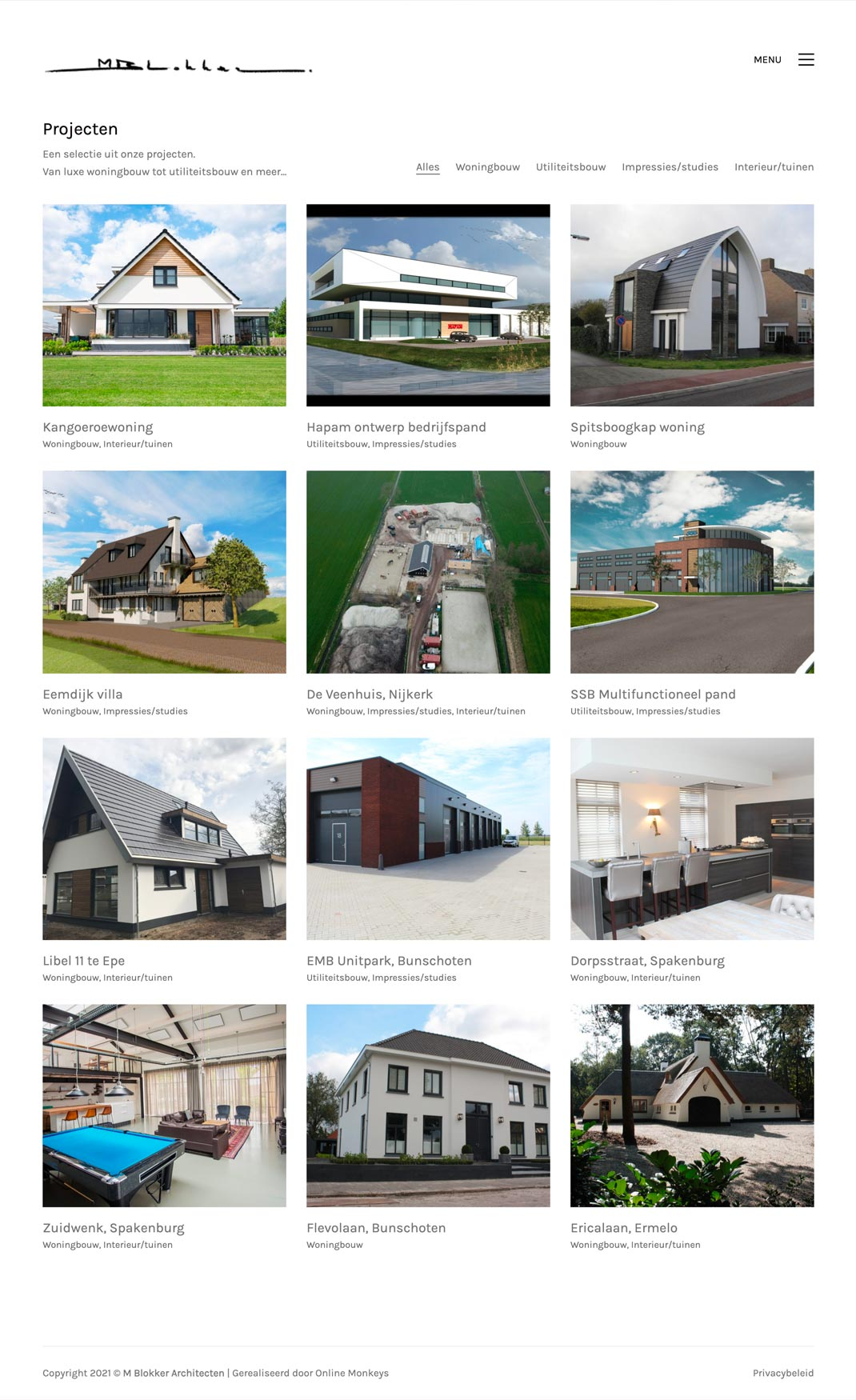 Case M Blokker Architecten